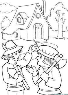 Caperucita Roja-8 Three Little Pigs, Coloring Pages, Kindergarten, Projects To Try, Kids Rugs, Cute, Decor, Print Coloring Pages, Red Riding Hood