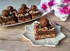 Ferrero Rocher - ciasto bez pieczenia! - Blog z apetytem Nutella, Polish Recipes, Recipes From Heaven, Yummy Cakes, Muffin, Food And Drink, Cooking Recipes, Favorite Recipes, Sweets