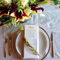 Wedding tasting table setting! || Lre Catering
