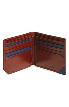Ted Baker London Leather Bifold Wallet available at #Nordstrom