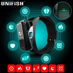 Find More Smart Wristbands Information about Jackcom B3 Smart Band All in one Smart Watch Heart Rate Monitors Bluetooth Smartband Fitness Tracker Bracelet for iPhone Android,High Quality watch men,China watch magnet Suppliers, Cheap watch mp4 from UNIFISH Official Store on Aliexpress.com