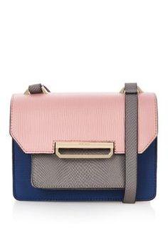 Colourblock Crossbody Bag