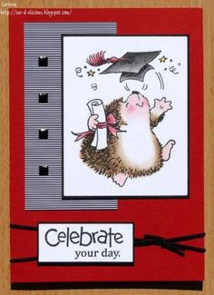 Graduation card by Milawi - Cards and Paper Crafts at Splitcoaststampers