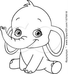 baby elephant coloring pagesjpg 371400 pixels
