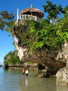 Under the rocks - Camotes Islands, Philippines  (by eazy traveler)
