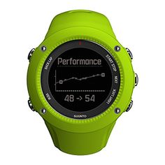 Movescount Training Programmes; GPS; LED Backlight Display; Running Cadence from the Wrist; Feedback: Speed, Pace, Distance, Altitude; Optional Extra: Suunto Smart Sensor; Time, Date Display; Not Compatible with ANT+; Water Resistance: 50m (164ft); Weight: 72g (2.5oz);