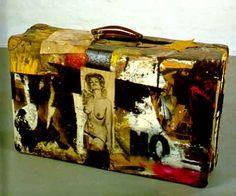 suitcase art - Google Search