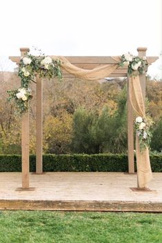 20 Stunning Rustic Wedding Ideas We've fallen head over heels for these dreamy wedding decor and food ideas.Rustic Ceremony Arch countryliving