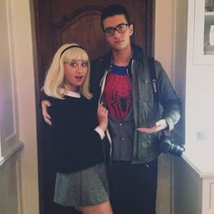 Gwen Stacy and Peter Parker costume