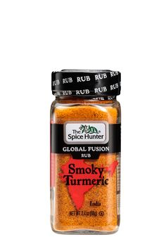 Smoky Turmeric Global Fusion Rub blends turmeric with smoked paprika, garlic, and chilis to create a colorful and tasty rub. Smoky Turmeric is inspired by the enchanting region of southwest India where the turmeric root originated, and is a rich complement to chicken or shrimp. 1 pepper out of 5 for spiciness. Herb Recipes, Indian Food Recipes, Cooking Recipes, Chicken Recipes, Vegetable Kebabs, Clay Oven, Natural Spice, Turmeric Root