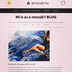 Szombati színorgia: a kék #mozaik - új cikk az amozaik.hu blogon. #sicis #everythingismosaic #mindenmozaik #blue #blu #kek #üvegmozaik Blog, Instagram, Blogging