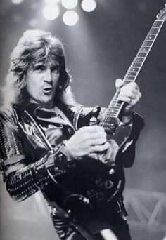 Glenn Raymond Tipton (born 25 October 1947) is an English Grammy Award-winning guitar player and songwriter noted for his complex playing style and classically influenced solos. He is best known as one of the lead guitarists for heavy metal band Judas Priest. https://en.wikipedia.org/wiki/Glenn_Tipton