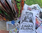 Junque Journalal Starter Kit as seen on YouTube by tangiebaxter. Want!!!
