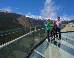 Ледник монтажный мостик Национальный парк Джаспер канада DesignBoom