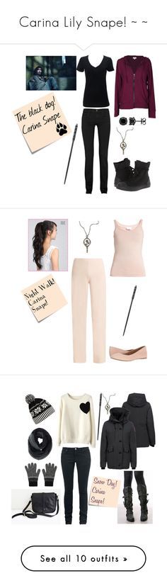 """Carina Lily Snape! ~ ~"" by selenerose-328 ❤ liked on Polyvore featuring J Brand, Velvet by Graham & Spencer, Simplex Apparel, Converse, Post-It, Schone, Sirius, La Perla, Skin and G.H. Bass & Co."