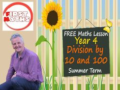 YouTube Division by 10 and 100 -  Maths PowerPoint Presentation - Year 4 Summer Term