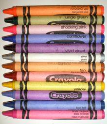 crayons, crayons, and more crayons!
