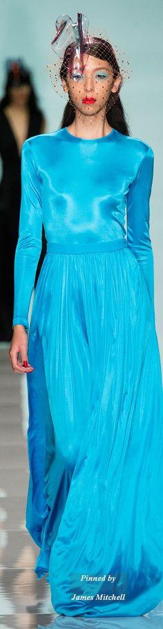 Farb-und Stilberatung mit www.farben-reich.com -  Emanuel Ungaro Collection Spring 2015 Ready-to-Wear