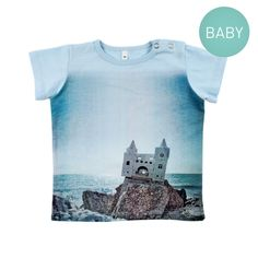 BABY ALPHA Castle t-shirt 1
