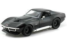 1969 Chevy Corvette Stingray ZL-1 1/24 Diecast Model Cars (Jada Toys)