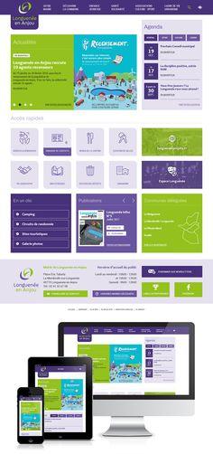 Réalisation du site web de la commune nouvelle de Longuenée en Anjou (49) : #Web #Webdesign #Responsive #Mairie #Ville #Public : www.longuenee-en-anjou.fr by @creasit