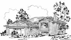 Eplans Contemporary-Modern House Plan - Three Bedroom Contemporary - 1089 Square Feet and 3 Bedrooms from Eplans - House Plan Code HWEPL62331