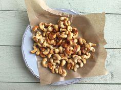 Nötter med honung och salt