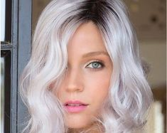 2020 Fashion Blonde Wigs For White Women 9N Hair Color Red To Blonde O - Wcwigs Red Blonde Ombre, White Blonde Hair, Blonde With Pink, Blonde Wig, Blonde Balayage, Ash Blonde, Black Hair Going Grey, Ash Grey Hair, Grey Hair Men