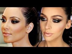 Bronze Smokey Eye Look - Carli Bybel
