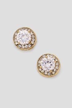 Classic Lauren Earrings in Gold on Emma Stine Limited