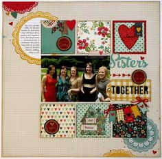 Layout: A Technique Tuesday & Simple Stories Homespun Layout by Mendi Yoshikawa