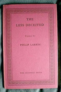 Bookride: Philip Larkin, The Less Deceived 1955