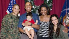 My son and his family with the President and Michelle.    http://www.whitehouse.gov/photos-and-video/2013-photos#dec