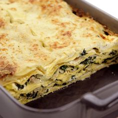 Lasagne van tonijn #WeightWatchers #WWrecept