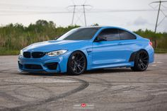 BMW F82 M4 With Vossen Forged VPS-301 Wheels Installed