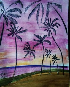 My new one #art #drawings #watercolor #nature