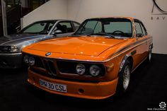 #BMW 3.0 #CSL au salon #TechnoClassica Essen reportage complet : http://newsdanciennes.com/2016/04/11/techno-classica-essen-reportage-plus-grand-salon-deurope/ #ClassicCar #VintageCar #Voiture #Ancienne