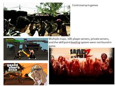 Controversy and perception in video games