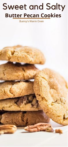 Classic Peanut Butter Cookies, Butter Pecan Cookies, Baking Cookies, No Bake Cookies, Cake Cookies, Crinkle Cookies, Biscotti Cookies, Delicious Cookie Recipes, Baking Recipes