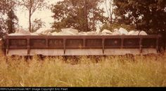 ACL 165321   Description:  ACL air dump car in east of Leewood Yard.   Photo Date:  9/3/1983  Location:  Memphis, TN   Author:  Eric Fleet  Categories:  RollingStock