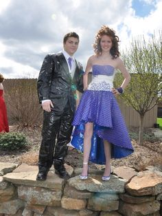 duct tape prom dresses | Stuck at Prom® Duck® Brand Duct Tape College Scholarship Contest