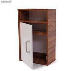 Mueble para cuarto de baño armario gabinete n63, 32x18x51cm