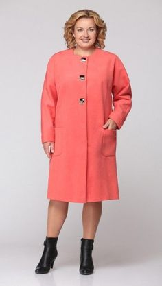 coat пальто מעיל plus size Arabic Dress, African Attire, Winter Outfits, Fashion Dresses, Cold Shoulder Dress, Plus Size, Shirt Dress, My Style, Coat
