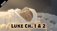 The Birth of Jesus - Gospel of Luke Ch. Bible Stories For Kids, Bible Study For Kids, Christian Post, Christian Videos, Christmas Bible, A Christmas Story, Luke Chapter 1, Book Of Mormon Prophets, Lucas 2