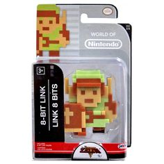 World of Nintendo 8-Bit Zelda Link Figure - Radar Toys
