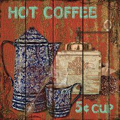 I uploaded new artwork to fineartamerica.com! - 'Hot Coffee' - http://fineartamerica.com/featured/hot-coffee-jean-plout.html via @fineartamerica
