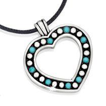 Brighton Indie Heart Necklace
