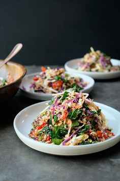 Coconut Quinoa Coleslaw Coconut Quinoa Salad, Quinoa Salat, Healthy Eating Habits, Healthy Salads, Healthy Recipes, Healthy Food, Side Salad Recipes, Quinoa Salad Recipes, How To Cook Quinoa