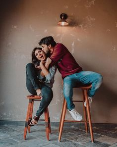Trending Indoor Prewedding Shoot Ideas For Couples Getting Married In 2020 Photo Poses For Couples, Cute Couple Poses, Indian Wedding Couple Photography, Wedding Couple Poses Photography, Couple Photoshoot Poses, Couple Picture Poses, Cute Couples Photos, Couple Shoot, Couple Pics For Dp