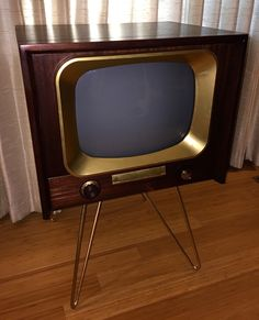"""Search Results for """"television"""" – Page 2 – Hepcats Haven Vintage Television, Television Set, Vintage Tv, Vintage Items, Vintage Stuff, School Tv, Tv Icon, Tv Sets, Antique Radio"""